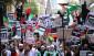انتقاد از عادی سازی: تظاهرات در لندن برای جلوگیری از پشتیبانی G-7 از رژیم صهیونیستی