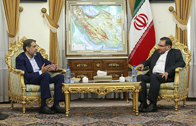 شمخانی یؤکد علی دعم ایران الشامل للمقاومة الفلسطینیة