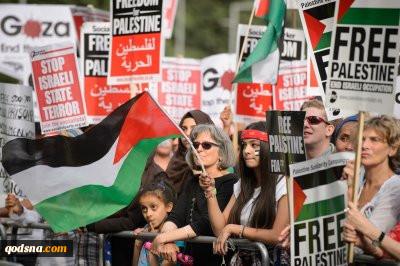 گسترش دامنه فعالیتهای جنبش جهانی تحریم اسرائیل  وزیر صهیونیست را به لندن کشاند
