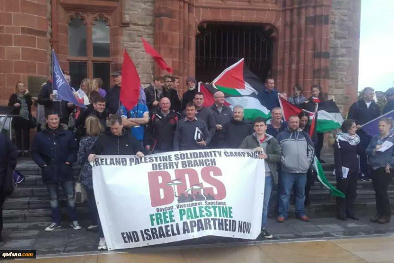 حمایت شهر ایرلندی از جنبش جهانی تحریم اسرائیل