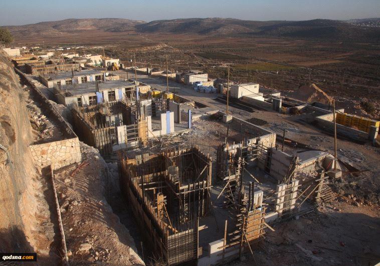 ساخت 98 واحد  مسکونی جدید در شهرک صهیونیستی شیلو
