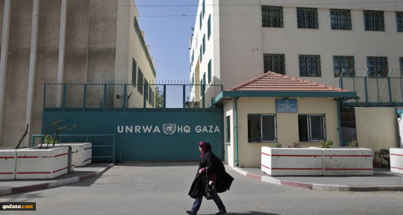 اعتصاب فلسطینی ها در اعتراض به سیاستهای آنروا