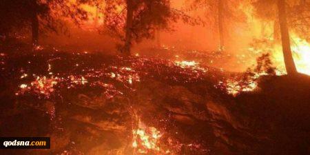گسترش آتش سوزی در اسرائیل