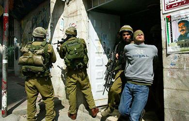 بازداشت 500 فلسطینی از جمله 14 زن و 110 کودک  در ماه گذشته میلادی