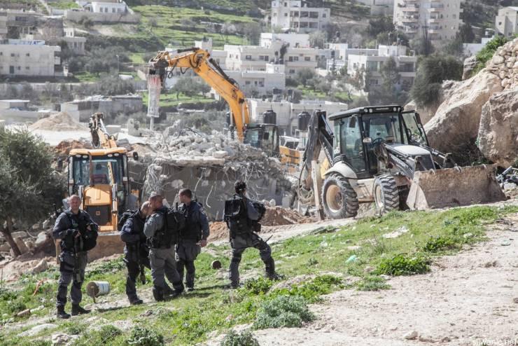 تخریب دو منزل فلسطینی در قدس اشغالی افزایش بی سابقه تخریب منازل فلسطینیان درسال 2016