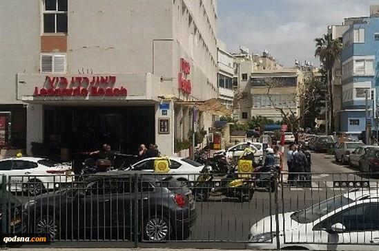 إصابة 4 إسرائیلیین فی عملیة طعن بتل أبیب