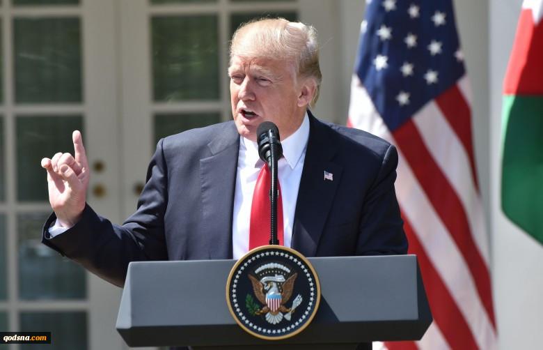 ترامب: لیعلم الجمیع أننا نقف بقوة إلى جانب إسرائیل