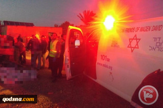 Palestinian youth in critical condition after being struck by settler's car