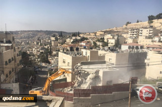 8 Palestinians, including 4 kids displaced after home rined