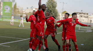 Palestine qualify for Asia football cup after defeating Bhutan