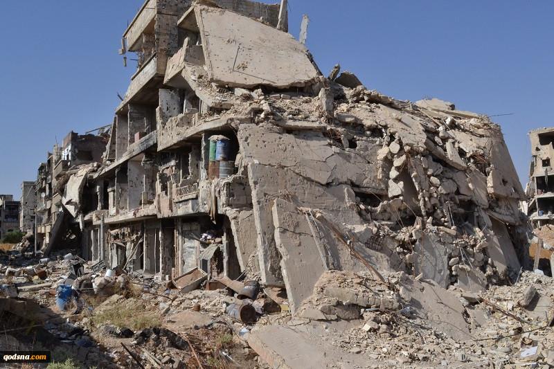 مشاهدات یک شاهد عینی پس از بازگشت به منطقه جنگ زده سوریه؛ «داریا» این روزها چه حال و هوایی دارد چند درخت و دیگر هیچ ویرانههایی تا عمق جان!+ تصاویر 2