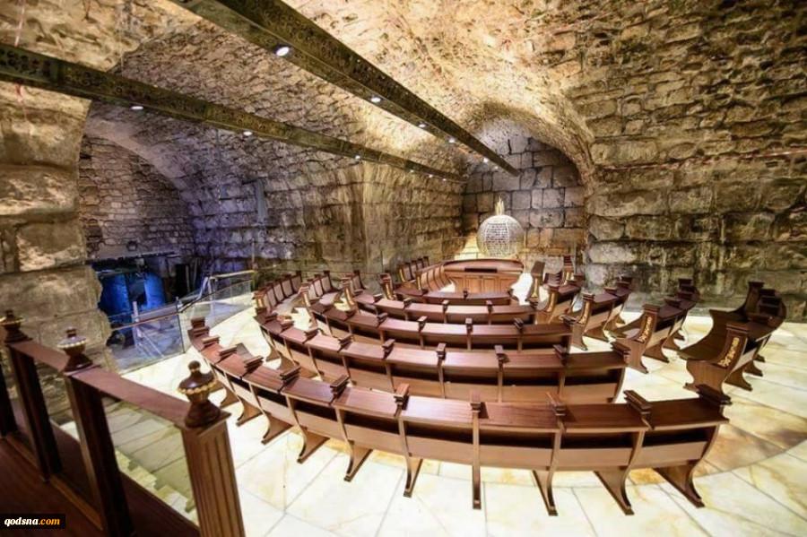 یک منبع عبری خبر داد؛افتتاح یک کنست جدید یهودی در پایین مسجدالاقصی توسط اسرائیل 2