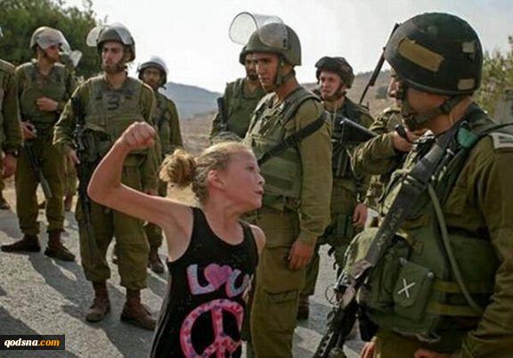 دختر فلسطینی همچنان در زندان رژیم صهیونیستی است 4