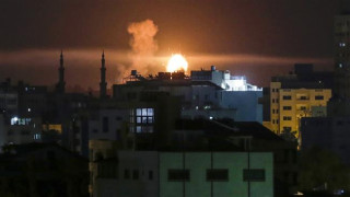 Israeli jets targeted multiple positions throughout Gaza Strip