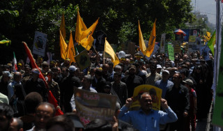 Massive rallies held in Iran to mark Intl. Quds Day