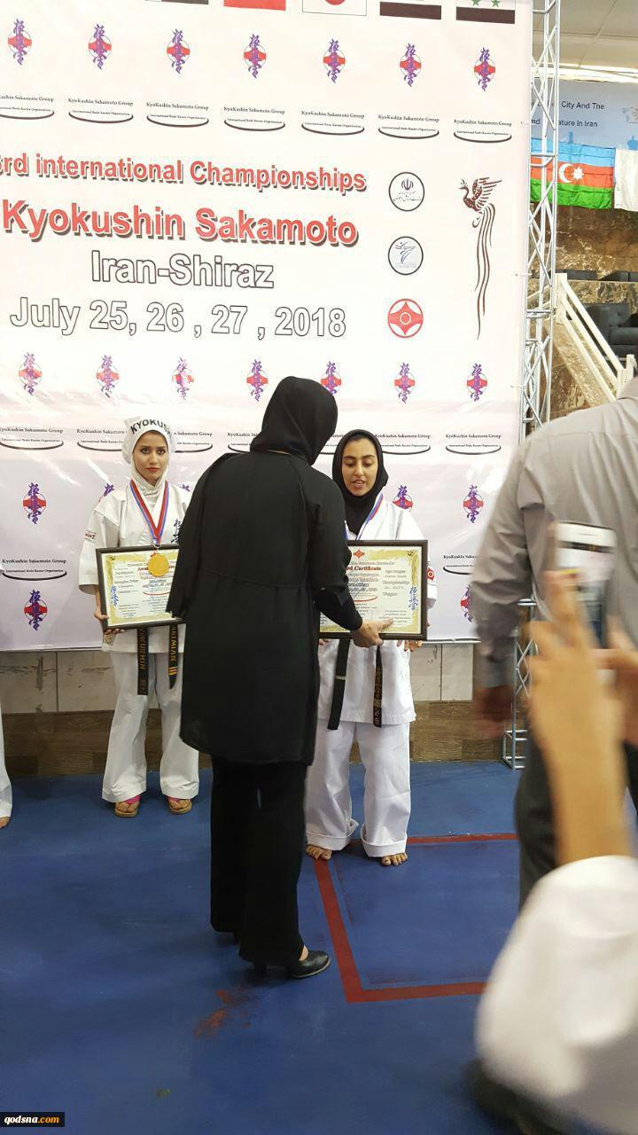 در رقابتهای بین المللی ۲۰۱۸کیوکوشین کاراته ساکاموتو فدراسیون کاراته در بخش بانوان: شاخه ورزشی جمعیت دفاع از ملت فلسطین مقام دوم را کسب کرد 13