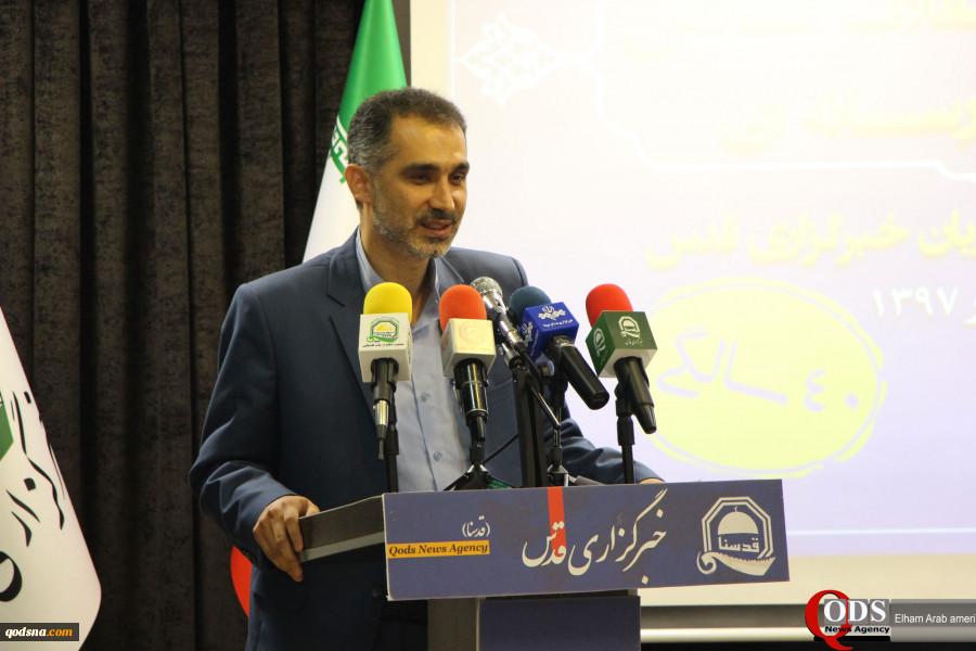 نشست «پیام چهل سالگی انقلاب اسلامی درآیینه دیپلماسی رسانه ای» آغاز شد؛شکیبایی: به خود میبالیم که در دهه چهارم انقلاب اسلامی شاهد رویشهای رسانهای هستیم 2