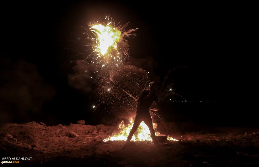 راهپیمایی شبانه مردم غزه نقطه ضعف جدید ارتش رژیم صهیونیستی+ تصاویر  4