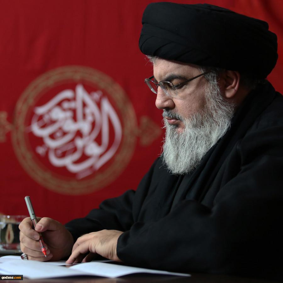 منابع لبنانی منتشر کردند:جدیدترین تصاویر سیدحسن نصرالله در ایام محرم 2
