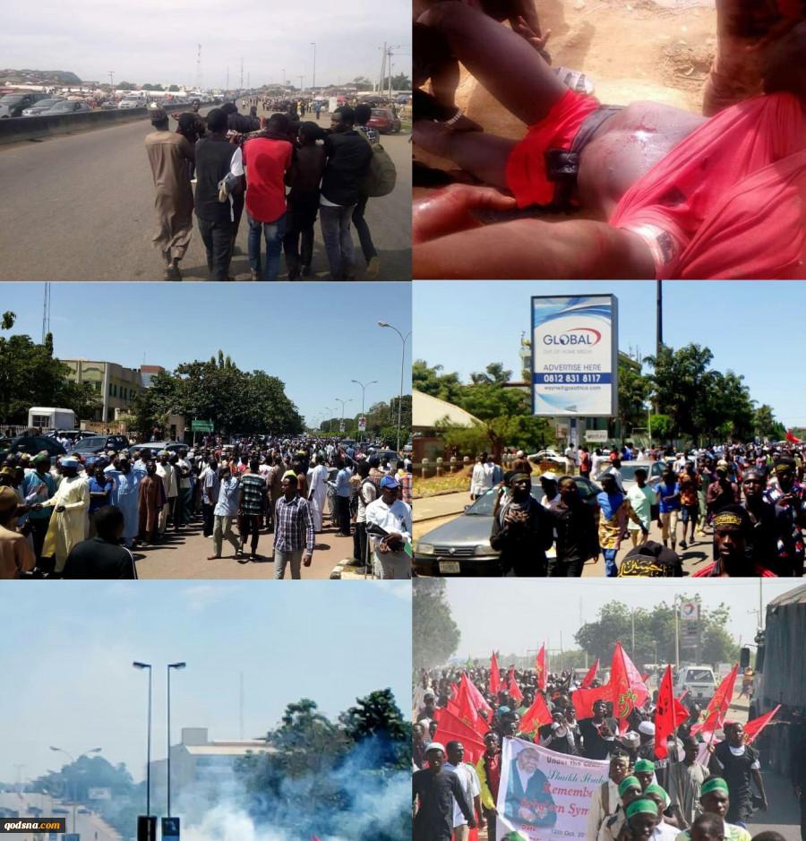 به همراه جدیدترین تصاویر و فیلم از خاک و خون کشیدن مراسم اربعین حسینی در ابوجا ؛قتل عام شیعیان نیجریه از سوی چه کسانی حمایت می شود؟ مرور برخی اسناد 4