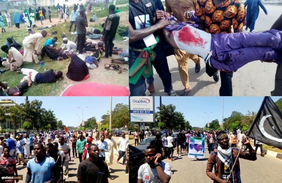 به همراه جدیدترین تصاویر و فیلم از خاک و خون کشیدن مراسم اربعین حسینی در ابوجا ؛قتل عام شیعیان نیجریه از سوی چه کسانی حمایت می شود؟ مرور برخی اسناد 6