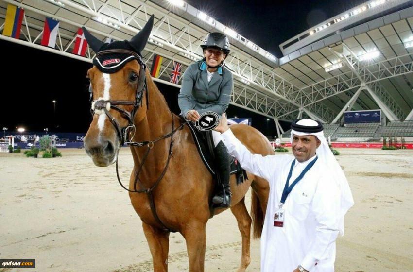 در جدیدترین قسمت از سریال عادی سازی روابط با رژیم صهیونیستی؛سوارکار اسرائیلی در مسابقات قطر کسب مدال کرد تبریک دفتر نتانیاهو+ تصویر 2