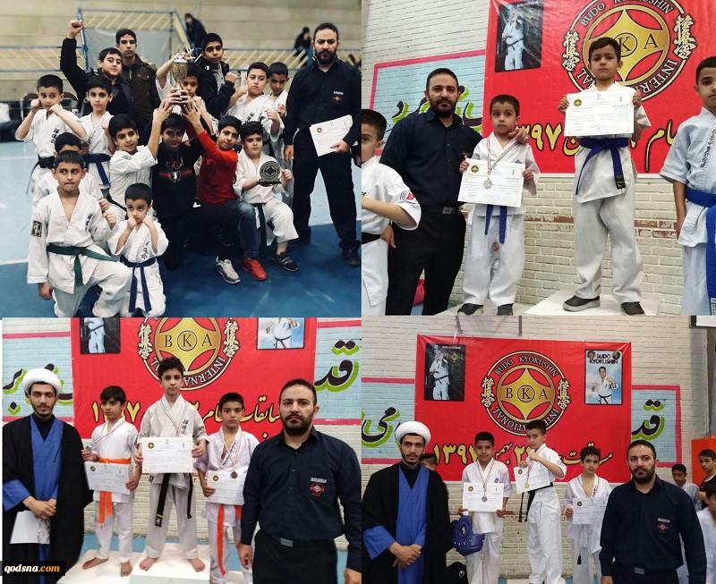 کسب مقام اول تیم فلسطین آزاد در رقابت قهرمانی کشور بودو کیوکوشین کاراته با 18 مدال خوش رنگ 4
