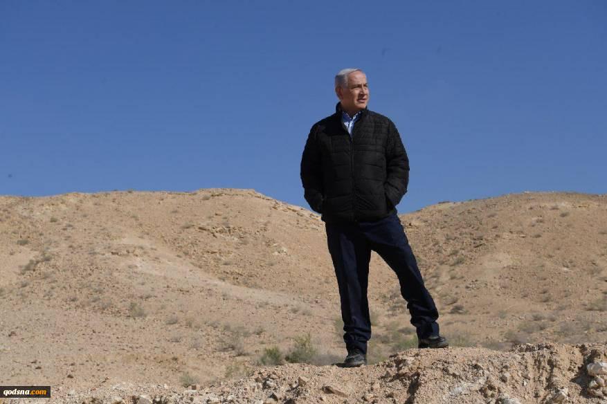 ضمن تهدید حماس رخ داد؛گشت و گذار انتخاباتی نتانیاهو در مناطق مرزی اطراف غزه+ تصاویر 3