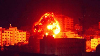 Israeli helicopters, jets launch fresh attacks on Gaza Strip