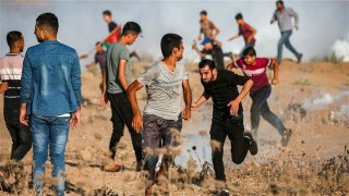 More than 50 Palestinian protesters injured by Israeli forces in Gaza