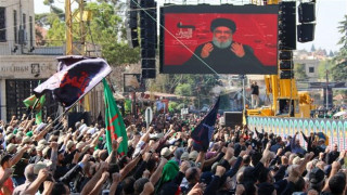 Nasrallah says opposed to government resignation, won't let anyone burn Lebanon