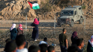 Israel attacks Palestinian protesters; 69 injured