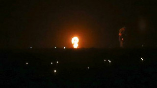 Israeli warplane targets Hamas position in blockaded Gaza Strip
