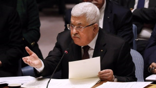 Palestinian president ends agreements with Israel, US over annexation