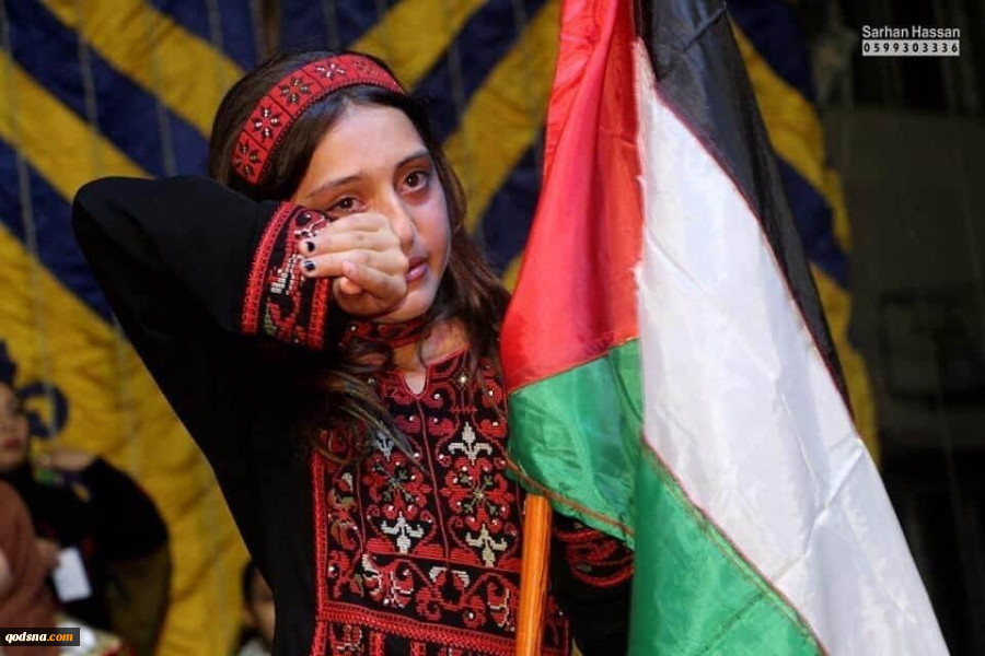 قدسنا گزارش میدهد؛اشک های خبرساز دختر شهید فلسطینی در فضای مجازی پرچم فلسطین در اهتزاز باقی ماند+تصاویر 6