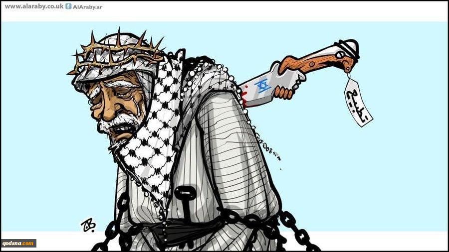 کاریکاتور روز  عادی سازی روابط با اسرائیل؛ خنجری از پشت به ملت فلسطین 2