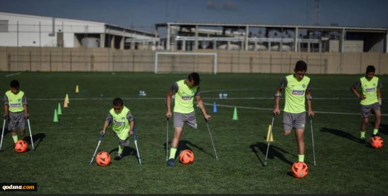 مهمترین اخبار ورزشی فلسطینلیگ باشگاههای فوتبال غزه از 20 نوامبر آغاز میشود عضویت فلسطین در کنفدراسیون بین المللی فوتبال معلولان تشکیل نخستین تیم فوتبال نوجوانان معلول در غزه + تصاویر 3
