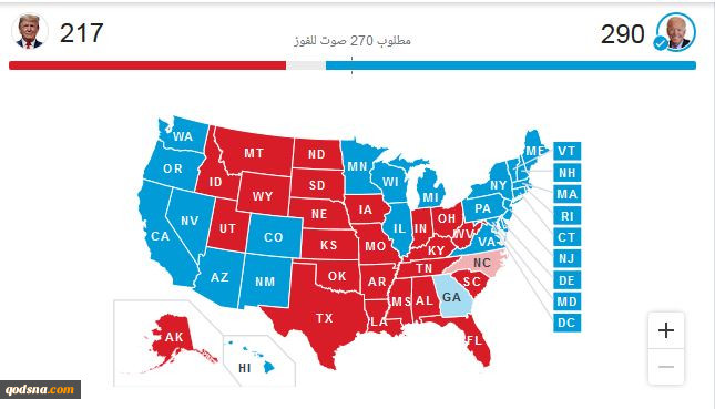 گزارش  پیامدهای انتخابات2020 امریکا و پیامهای رآی دهندگان آن 2