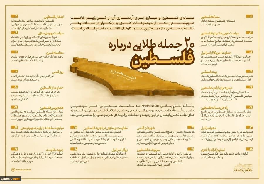 20 جمله طلایی درباره فلسطین 3